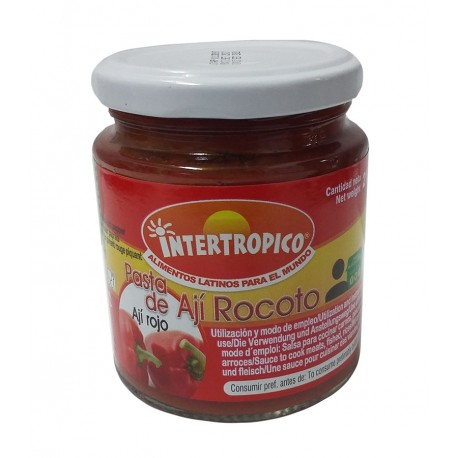 PASTA DE AJI ROCOTO INTERTROPICO X 212GR