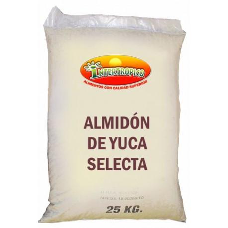 ALMIDON DE YUCA X25K.LIBREGLUTEN