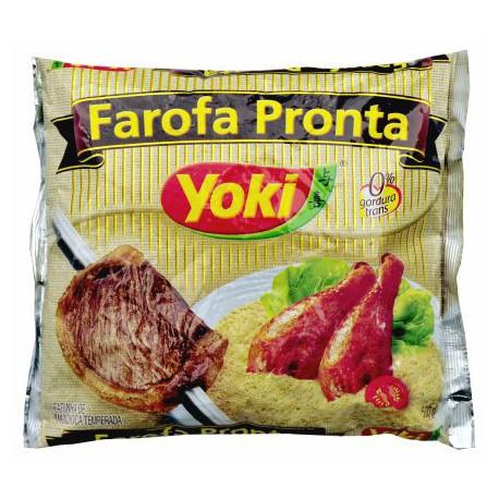 FAROFA PRONTA DE MANDIOCA YOKI X 500GR