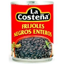 FRIJOLES NEGROS ENTEROS LA COSTEÑA 560GR