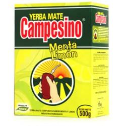 YERBA MATE CAMPESINO MENTA LIMON 500GR