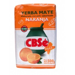 YERBA MATE CBSE NARANJA X 500GRS