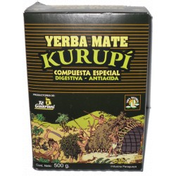 YERBA MATE KURUPI COMPUESTA X500GR