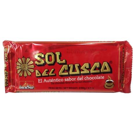CHOCOLATE SOL DEL CUSCO