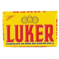 CHOCOLATE LUKER AMARGO 250GR